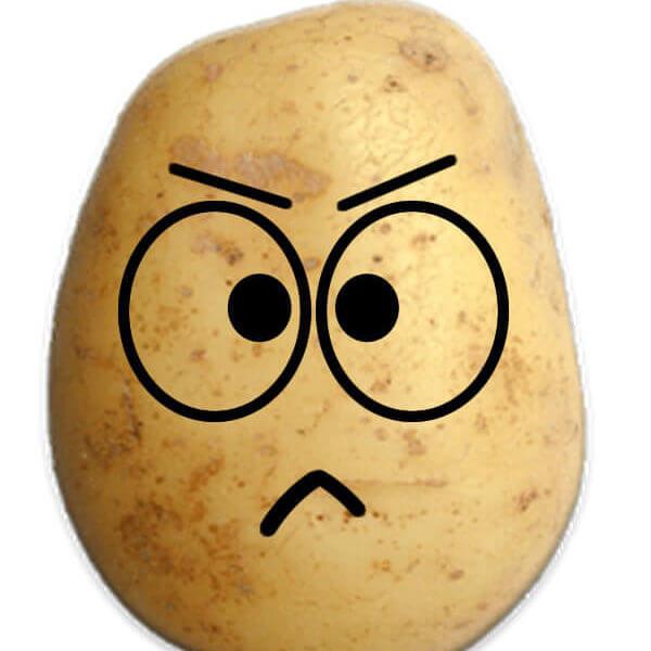 Angry Potato Prank Emoji