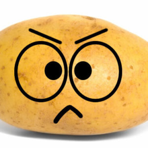 Angry Potato Emoji