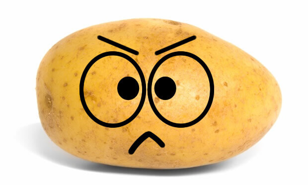 Angry Potato Emoji