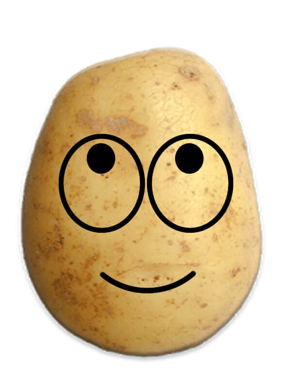 Happy Potato Prank Emoji