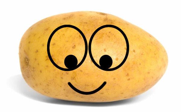 Happy Smiley Potato