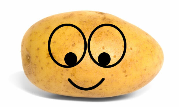 Happy Smiley Potato