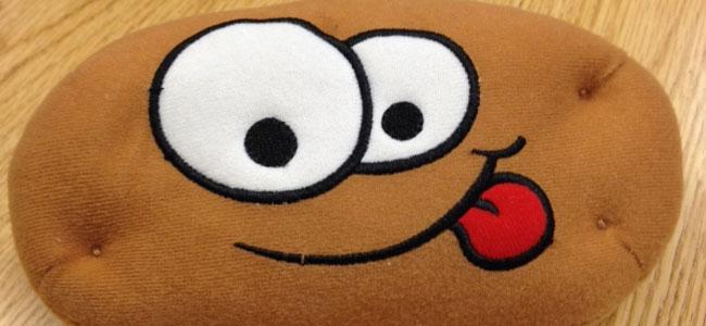 Smiley Potato Pillow Soft Toy