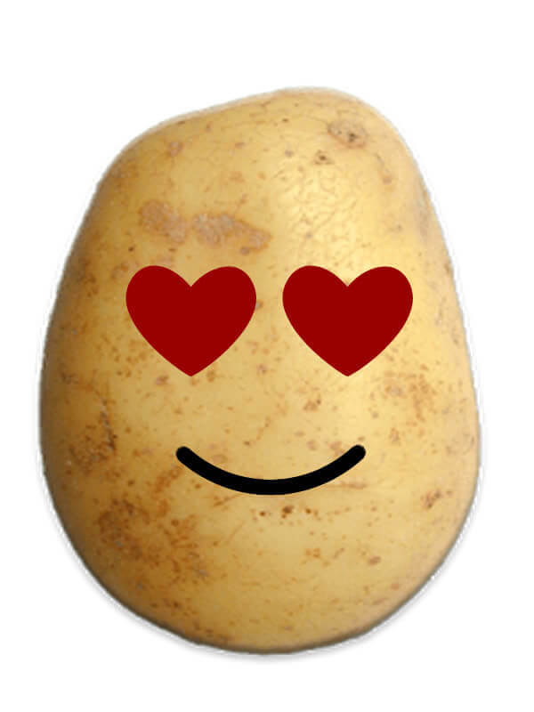 Lover Potato Prank Emoji